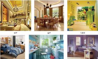 广场设计,雕塑,壁画等环境艺术作品设计和室内