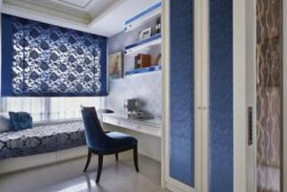 室内设计培训:书房兼卧室装修风格如何统一