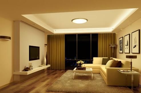 室内设计培训课堂;客厅的色彩和照明设计