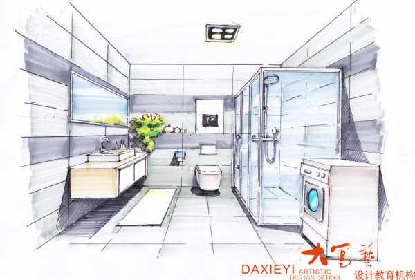 手绘线稿基础技法介绍 - 重庆最好的室内设计培训学校