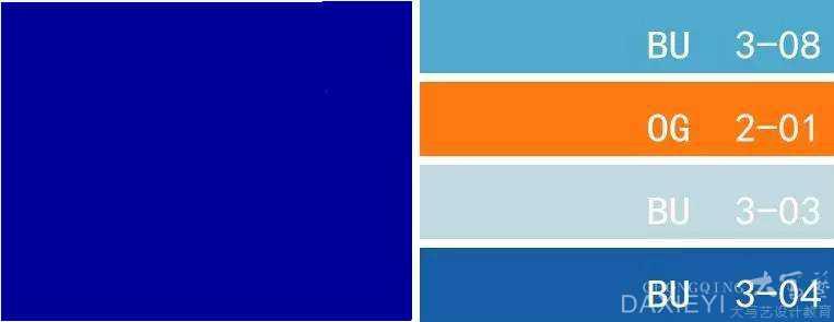孔雀蓝色彩搭配_爱马仕橙,惊艳了岁月,灿烂了时光,居家软装配色的经典 ...